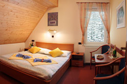 Cosy rooms in the pension